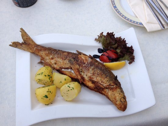 Unterach am Attersee, Österreich: Whitefish from lake Attersee