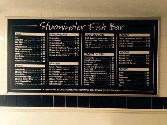 Sturminster Newton, UK: Sturminster Fish Bar