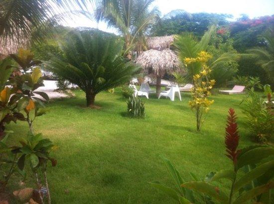 Residence El Balata Aparta Hotel : Vista hermosa al abrir la puesrta de nuestra habitacion
