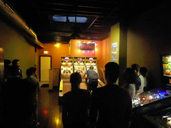 Maplewood, MO: Skeeball at Orbit