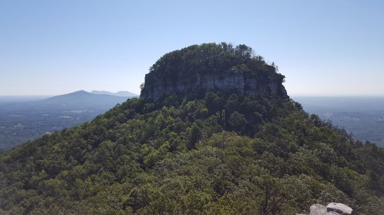 The dome from Little Pinnacle Overlook