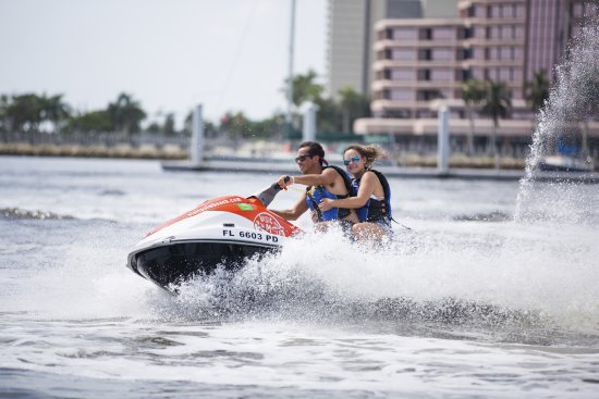 Visit Palm Beach Jet Skiing Downtown West