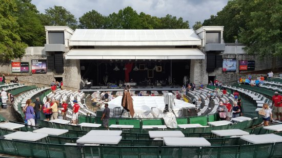 Chastain Park Amphitheater: Stage