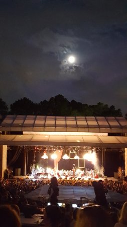 Chastain Park Amphitheater: On a clear night it's magical