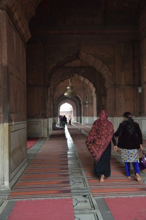 Friday Mosque (Jama Masjid): Gente