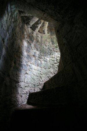Cong, Irland: The stairs to the top can get a little dark; bring a torch.