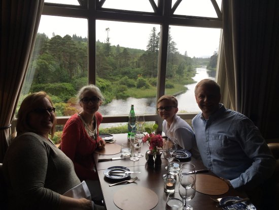 Owenmore Restaurant: Dinner with a view