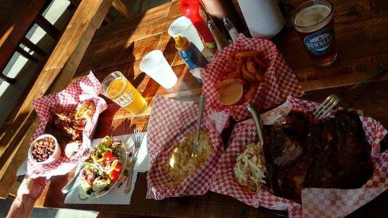 Hartford, VT: Our dinner for two