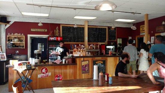 Hartford, VT: The inside of Fatty's