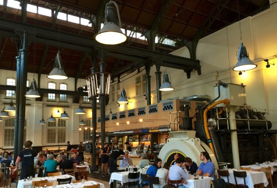 Cool industrial interior picture of cafe restaurant for Industrial design amsterdam