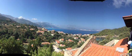 Niriides Apartments and Rooms: Panoramic View
