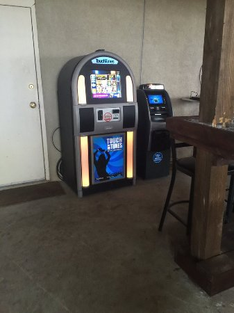 Summerton, Carolina del Sur: downstair jukebox