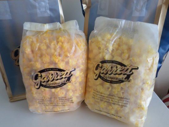 Garrett Popcorn S Cheese And Er Large Bags