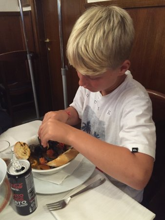 Da Franco Ristorante Pizzeria: Great experience with professional and friendly staff and mussels my 11 year old loved