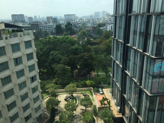 New World Saigon Hotel: view from where we were
