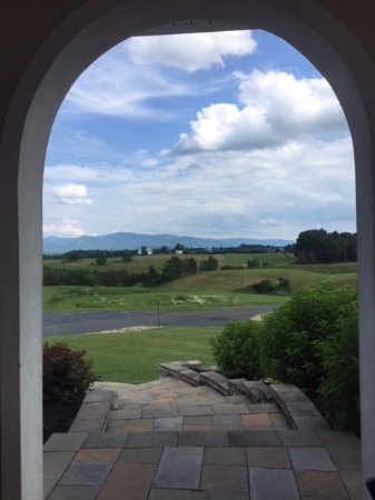 Mount Crawford, VA: View from winery