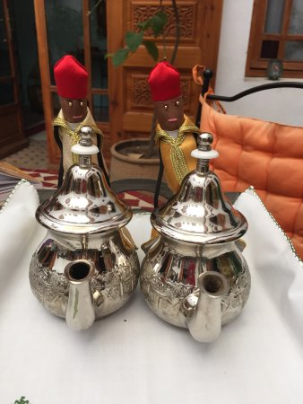 Ryad Dar Karima : Loved the teapot holders. Great mint tea in the afternoon.