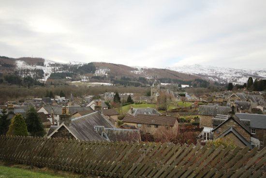 Pitlochry Youth Hostel: View from Youth Hostel