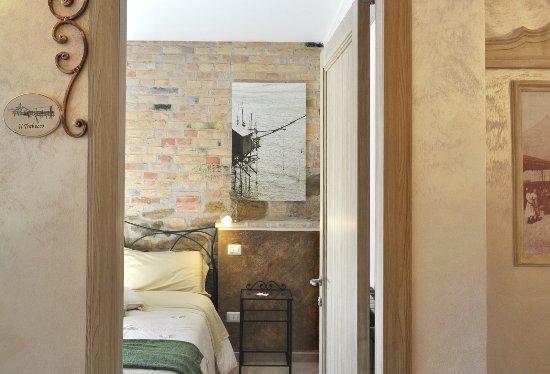 Camere Da Letto Matrimoniali Romantiche : La romantica camera dei trabucchi dispone di un letto matrimoniale