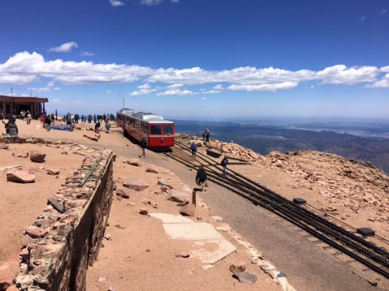 Manitou Springs, CO: Cog Train stop