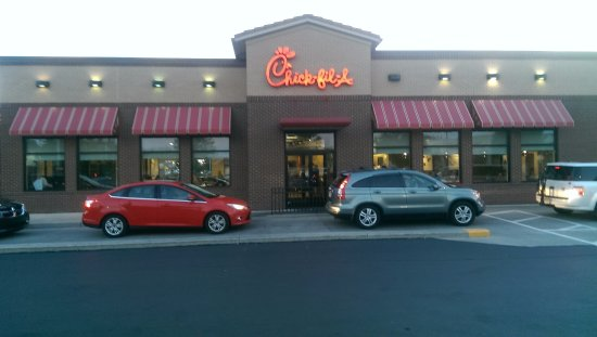 Mechanicsburg, PA: I'm not the only one that thinks CFA is a good stop.