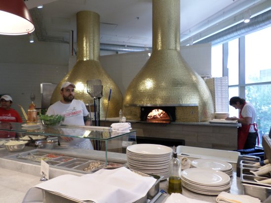 Eataly Wood Fired Pizza Ovens
