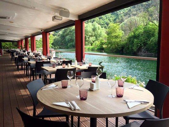 Restaurant L'Ecluse: Salle interieur