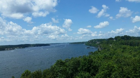 Lake Ozark, Μιζούρι: View from Baxter's Lakeside Grille