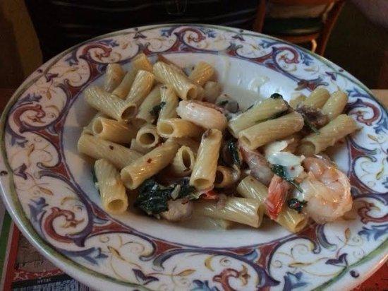 เอนดิคอตต์, นิวยอร์ก: Shrimp Asiago