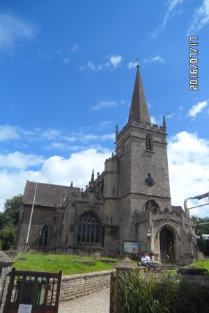 St Cyriac's Church in Lacock