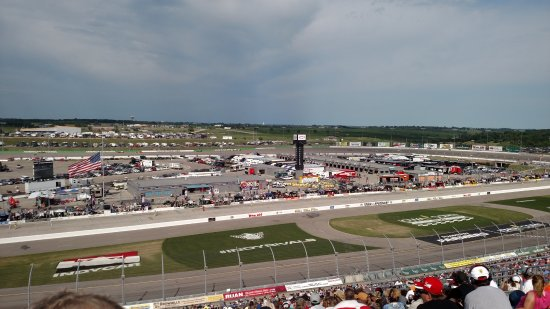 Newton, IA: Great track view!
