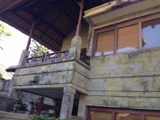 Grand Balisani Suites : Our room from outside (on second floor)