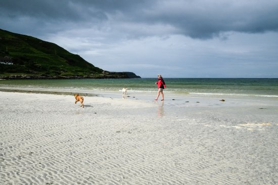 Dervaig, UK: We loved nearby Calgary beach