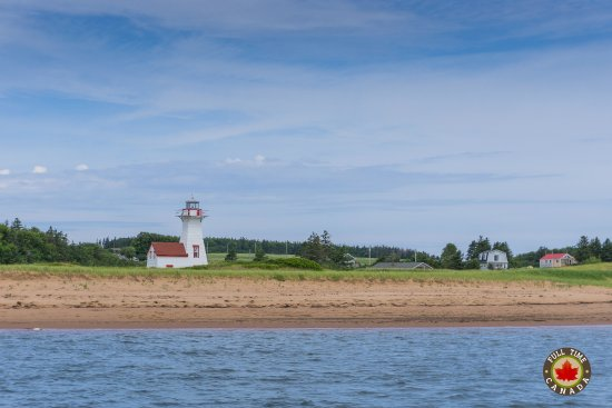 Stanley Bridge, Canadá: The New London Lighthouse