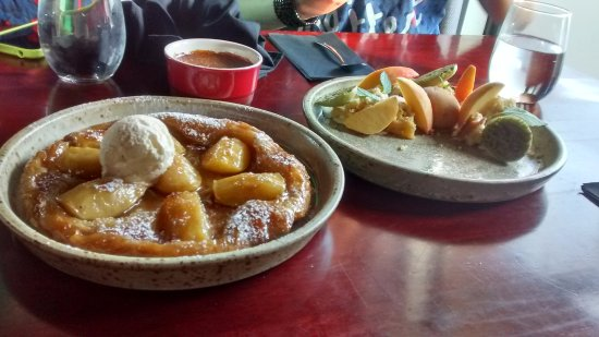 St. Albert, Canada: The apple tart tartin was delicious, but I'm not sure it was worth the 41 minute wait.