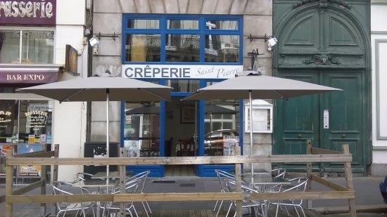 Terrasse De La Creperie Picture Of Creperie Saint Pierre