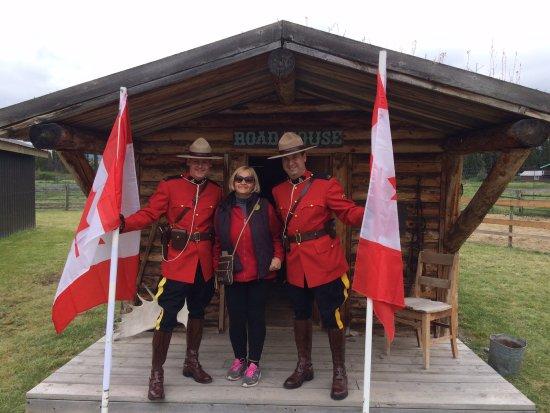 Carcross, Canada: Бравые ребята