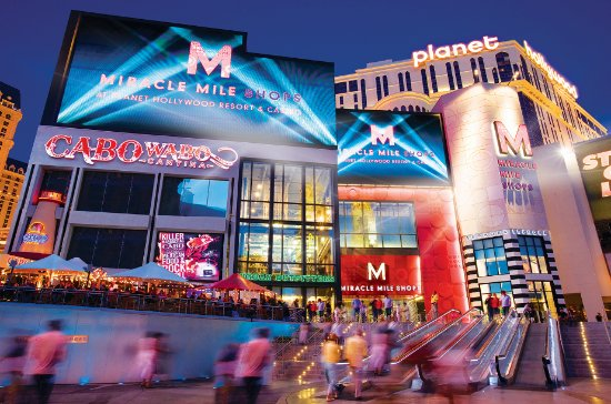 Photo of Tourist Attraction Miracle Mile Shops at Planet Hollywood at 3663 Las Vegas Blvd South, Las Vegas, NV 89109, United States