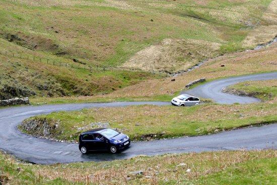 Eskdale, UK: The 1 in 3 hill