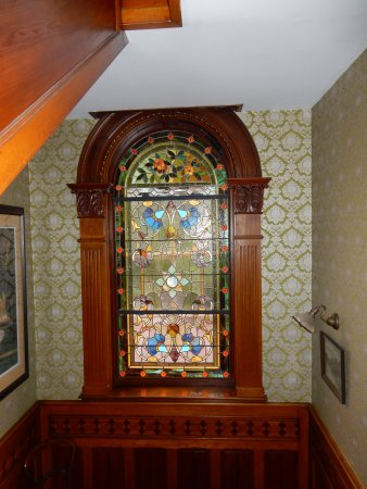Windsor, Canada: Historical stained glass window