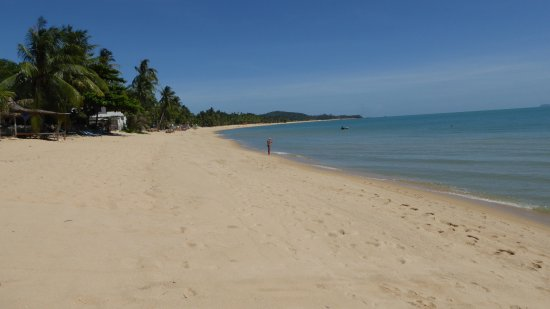 Hacienda Beach Resort: La belle plage de Mae Nam