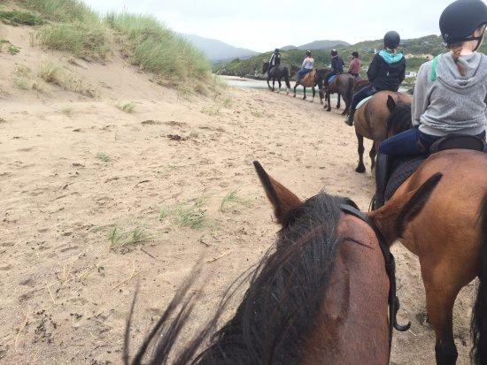 Caherdaniel, Irlande : On the beach