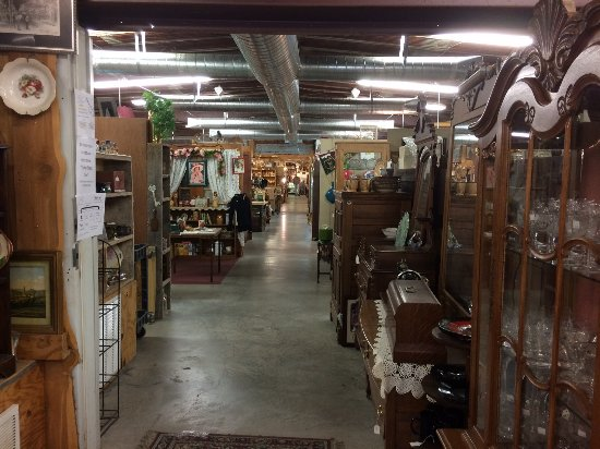 McGregor, TX: inside the main store
