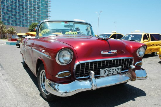 Chevrolet Bel Air - 1955 - Havanna - Picture of Old Cars