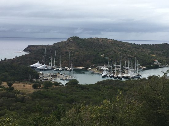 English Harbour, Antigua: From the overlook
