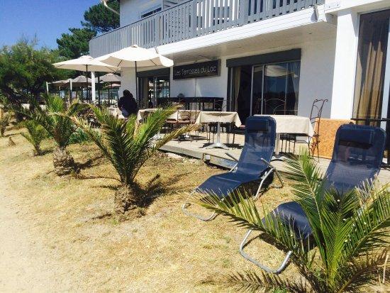 Terrasses du lac hossegor restaurant avis num ro de - Restaurant cote jardin lac 2 ...