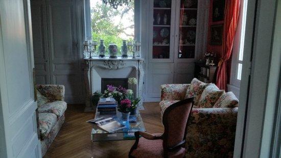 La Liniere: Indretning i huset
