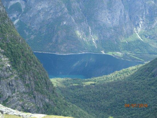 Nesset Municipality, Norway: Вид на оконечность фьорда.
