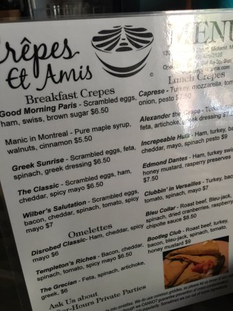 Midland, MI: breakfast and lunch selections