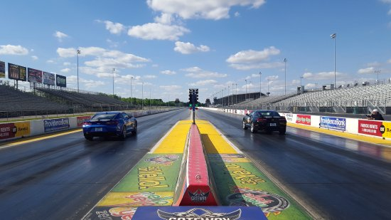 Madison, IL: Race down the Drag strip in one of our 2016 Camaros!